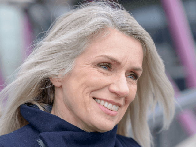 Women experience new hair growth as they age